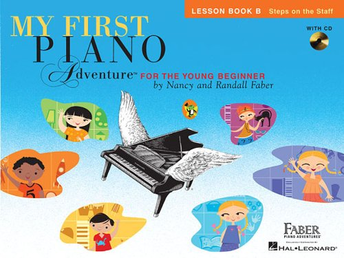 My First Piano Adventure, Lesson Book B with CD