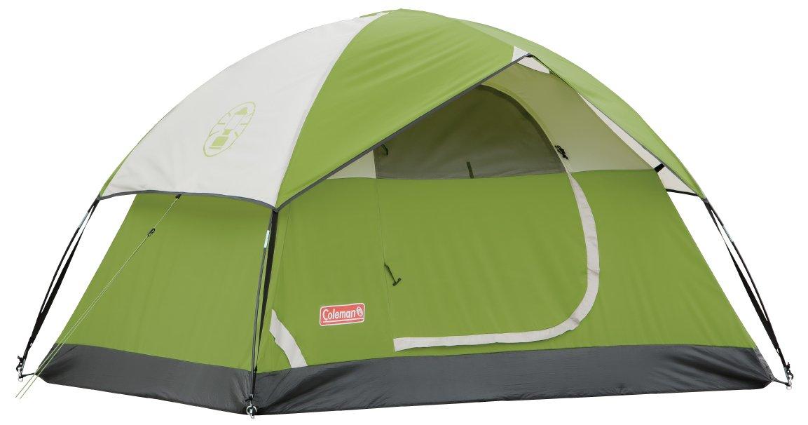 Amazon.com : Coleman Sundome 7' x 5' Dome Tent : Family Tents ...