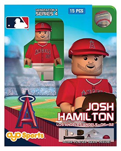 Josh Hamilton OYO MLB Los Angeles Angels G4 Series 4 Mini Figure Limited Edition