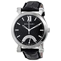 Bvlgari Sotirio Automatic Retrograde Date Mens Watch SB42BSLDR by Bvlgari