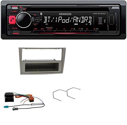 Kenwood-CD-MP3-USB-Bluetooth-Autoradio-fr-Opel-Astra-H-Corsa-D-Zafira-B-satin-stone