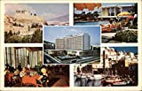 Views of City and Hilton Hotel Athens, Greece Original Vintage Postcard