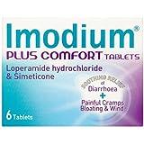 Imodium Plus Comfort Tablets, 6 Capsules