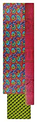 Chandni Women's Cotton Unstitched Salwar Suit Material (Multi)