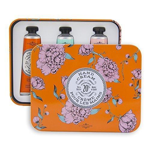 la-chatelaine-20-shea-butter-hand-cream-tin-gift-set-with-organic-argan-oil-hydrating-repairing-beau