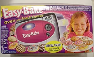 Amazon Com Easy Bake Oven And Snack Center By Hasbro