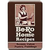 Retro Be-Ro Book Design Airtight Food Storage Gift Tin