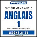ESL French Phase 1, Unit 21-25: Learn to Speak and Understand English as a Second Language with Pimsleur Language Programs | Livre audio Auteur(s) :  Pimsleur Narrateur(s) :  Pimsleur