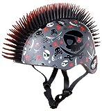 KRASH Pirate Skull Mohawk Helmet, Grey