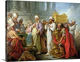 Solomon Before the Ark of the Covenant, 1747 (oil on canvas) Gallery-Wrapped Canvas
