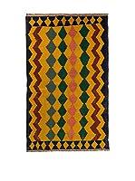 Navaei & Co. Alfombra Persian Old Kilim Kashkai Mostaza/Multicolor 201 x 115 cm