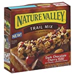Nature Valley Chewy Trail Mix, Dark Chocolate Cherry Granola Bars 7.4 Oz (Pack of 4) Reviews