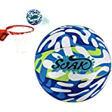 Soak Swimming Pool Basketball Water Series Blue , Safe and Cool Design, Easy to Grip