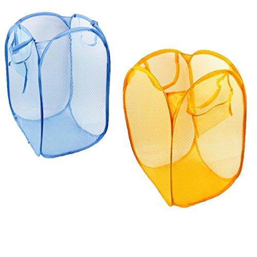Combination of life color folding laundry basket toy storage basket blue home garden household - Laundry basket lights darks colours ...