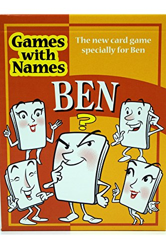 BEN'S GAME: Stocking stuffer gift for people called BEN etc (also secret santa or fun birthday gift for male or Christmas present). - 1