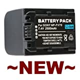 Replacement Rechargeable Battery Pack for Sony Handycam DCR-DVD908E DCR-DVD910 DCR-DVD92 DCR-DVD92E
