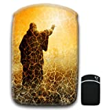 Man Reaching for the Light Dressed In Robes For Amazon Kindle Fire & Kindle 3G Keyboard Soft Protection Neoprene Case Cover Sleeve Bag With Pocket which is Ideal for Headphones, Data Cable etc