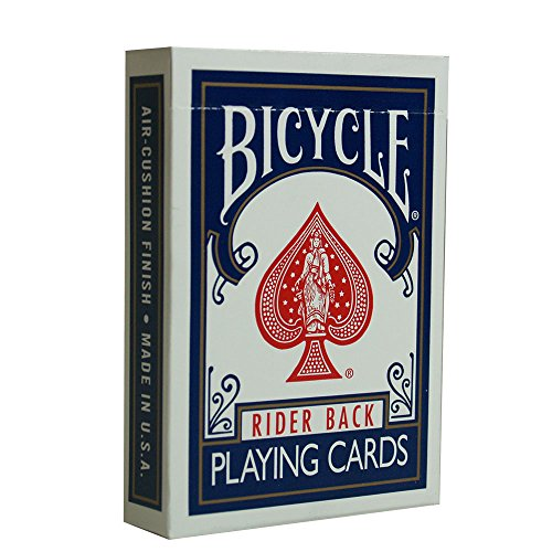 MMS Bicycle Poker Playing Cards (Blue)