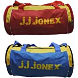 JJ Jonex Polyester 22 Cms Multi-Colour Soft Sided Gym Bags (Combo Pack Of 2 ) - B01H6VKX2A