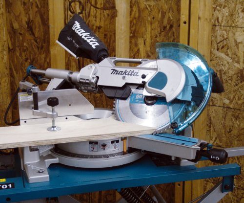 Makita LS1216LX 12-Inch Dual Slide Compound Miter Saw with Laser and Stand