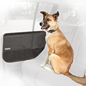 Kurgo Car Door Guard for Pets, Grey