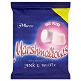 Princess Marshmallows Pink & White 225g (Pack of 12)