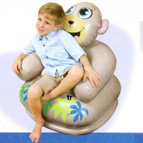 Intex kindersessel sessel aufblasbar frosch nilpferd oder br for Sessel aufblasbar