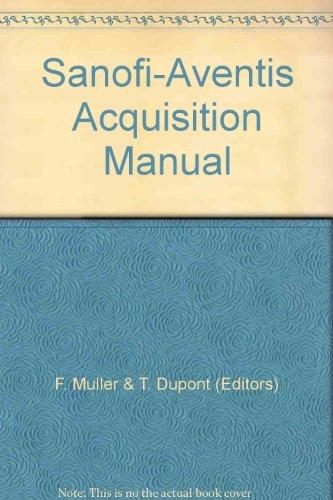 sanofi-aventis-acquisition-manual
