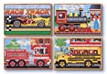 Melissa & Doug Deluxe Vehicles in a B...