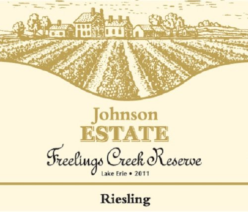2011 Johnson Estate Freelings Creek Riesling 750 Ml