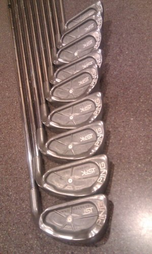 Mens RH Ping ISI Golf Set Irons 3-PW Clubs Stiff Flex Shafts Right Handed (Ping Golf Clubs Irons compare prices)