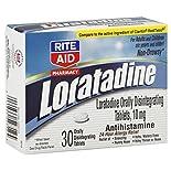 Rite Aid Loratadine, 10 Mg 30 tablets