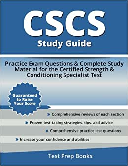 CSCS Exam: #1 Free Online CSCS Exam Prep Guide (UPDATED 2018)