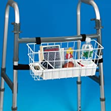 Ableware 703192002 Economy Walker Basket (2 per Bag)