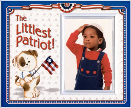 The Littlest Patriot! - Picture Frame Gift - 1