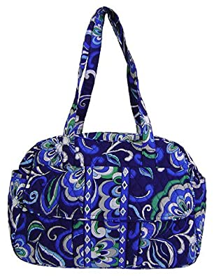 vera bradley baby bag diaper mediterranean blue shoes. Black Bedroom Furniture Sets. Home Design Ideas