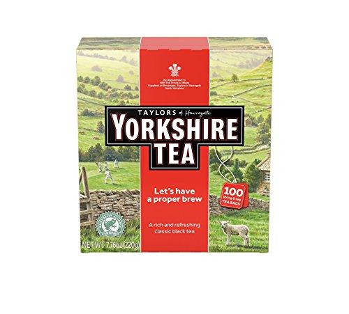 Taylors of Harrogate Yorkshire Tea, 7.76 Ounce 100 Tea Bags