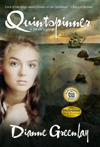 Quintspinner - A Pirate's Quest by Dianne Greenlay ebook deal