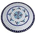 Luxus Mosaiktisch NEPTUN Beistelltisch Mosaik Tisch von DEUBA GmbH & Co. KG. bei Gartenmöbel von Du und Dein Garten