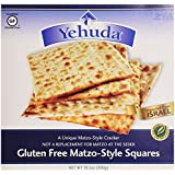 Yehuda Matzo-Style Squares Gluten Free Unflavored -- 10.5 oz
