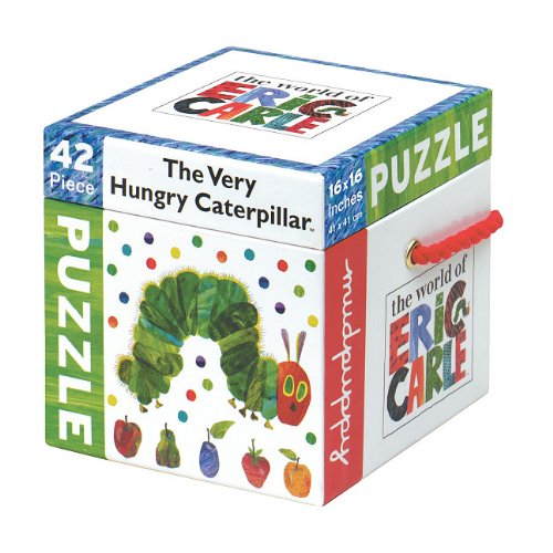 Cheap Fun Mudpuppy Eric Carle Caterpillar 42 Piece Puzzle (735327793)