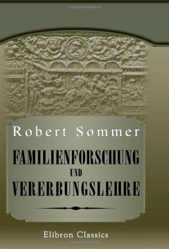Familienforschung und Vererbungslehre