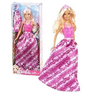 Mattel Year 2012 Barbie Fashion Meets Fairytale Series 12 Inch Doll Set Barbie