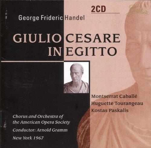 Giulio Cesare In Egitto (Cabale-A.Gramm) - Handel - CD