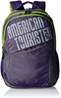 American Tourister Purple Casual Backpack (69W (0) 50 002)