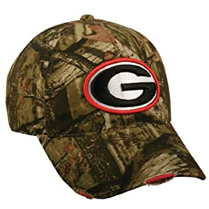 Mossy Oak Break Up Infinity College Football Hats (Georgia Bulldogs)