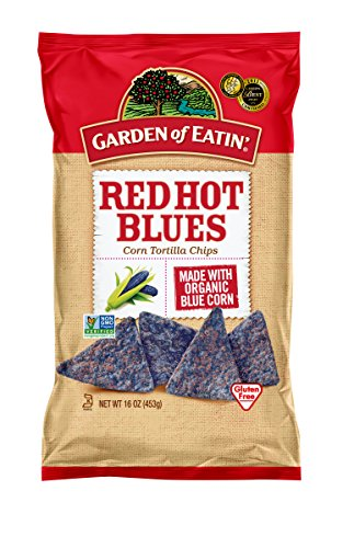 Garden of Eatin' Red Hot Blues Corn Tortilla Chips, 16 Ounce (Pack of 12) (Blue Corn Tortillas Non Gmo compare prices)