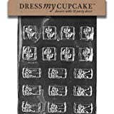 Dress My Cupcake DMCC183 Chocolate Candy Mold Presents 2 Sizes Christmas