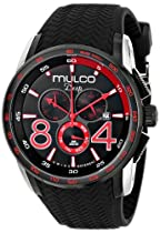 MULCO Unisex MW1-29849-025 Analog Display Swiss Quartz Black Watch
