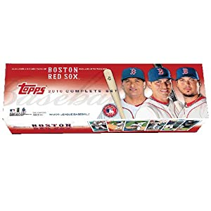 MLB Boston Red Sox Edition 2010 Topps MLB Factory Set, Retail (661 cards) by Topps